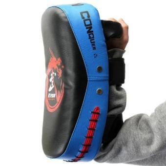 Boxing Muay Thai Martial Combat Karate Kicking Punching TrainingPad Target Blue - 2