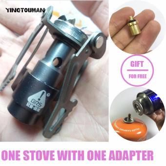 BRS-3000T Ultra-light Titanium Alloy Camping Stove Gas StovesOutdoor Cooker Outdoor Gas Stove Miniature Picnic Stoves