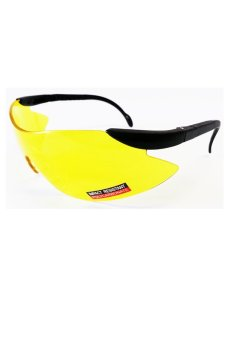 BugEye Tactical Shooting Eyewear: with High Contrast Lens (Yellow) - picture 2