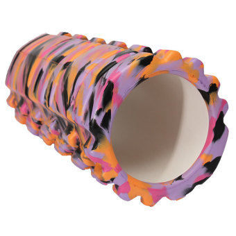 Camouflage Yoga Foam Roller Trigger Point Grid Gym Pilates Massage Sport Style 3 (Intl)