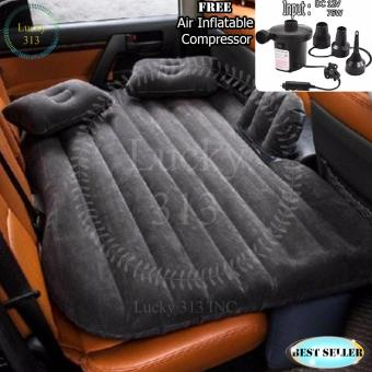 Car Travel Inflatable Air Bed Mattress Outdoor Sofa Black Free AirCompressor