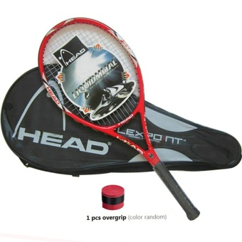 Carbon Fiber Tennis Racket Racquets Equipped with Bag Tennis Grip Size 4 1/4 Raquetas - intl