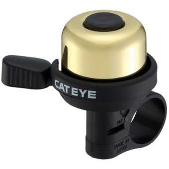 CatEye Classic Cycling Wind Bell #0232 (Gold)