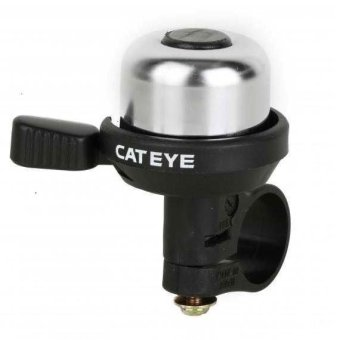 CatEye Classic Cycling Wind Bell #0232 (Silver)