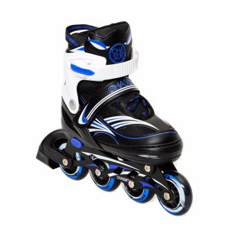 Chaser Raider Inline Skates(GX-1506) Blue M (US Sizes 3-5)