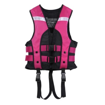 Child Water Sports Vest Swimming Jackets Kids Life Saving Gilet (Purple) - intl