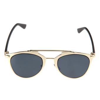 Classic Metal Frame Mirror Sunglasses Women Fashion Sunglass - picture 2