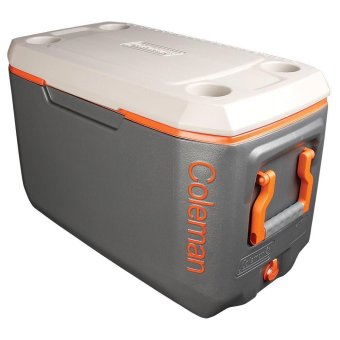 Coleman 70Qt Xtrm Cooler (Grey/Orange)