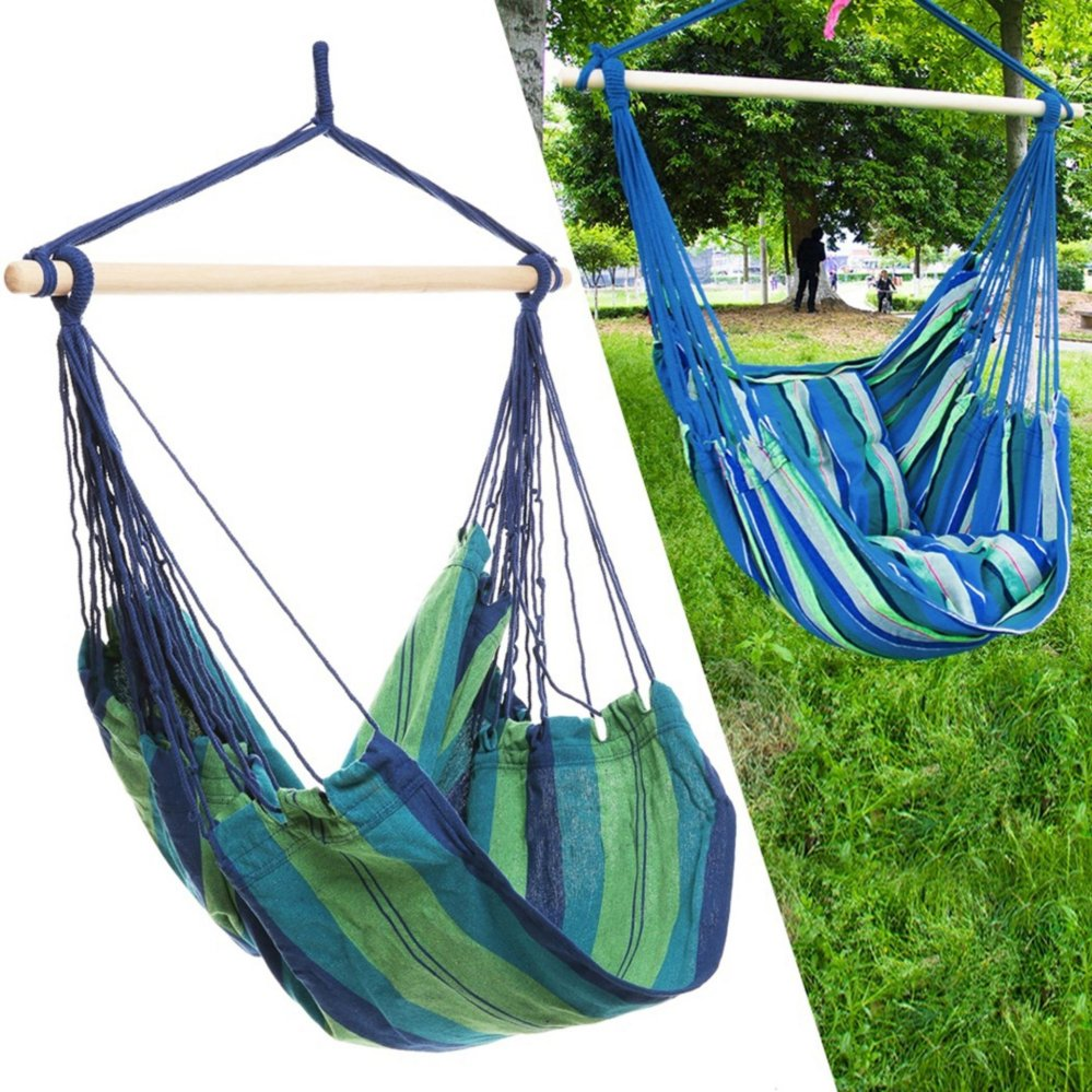 fort hanging hammock chair outdoor garden rope swing chair seathammock bench patio camping  green      philippines    fort hanging hammock chair outdoor garden rope      rh   ideaforliving info