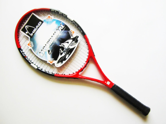 Compound high strength carbon aluminum tennis racket (Watermelonred)