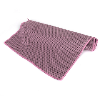 Cooling Ice Towel for Sports Outdoor Exercise Pink + Black - picture 2