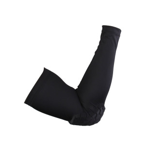 Crashproof Arm Sleeve Elbow Support for Cycling Basketball Black M