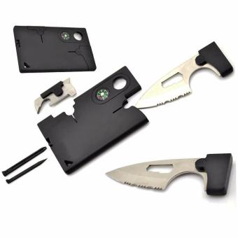 Credit Card-sized Combination tool 10 in 1 Multifunction tool