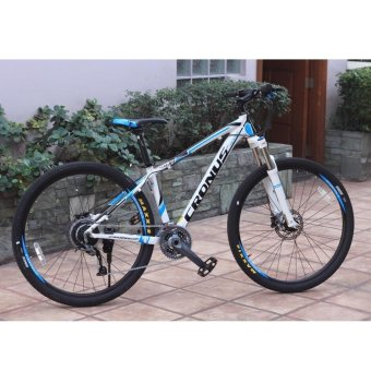 "CRONUS Rover 650B 27.5"" Factory-Built Hardtail XC MTB Mountain Bike(White/Blue) Price Philippines"
