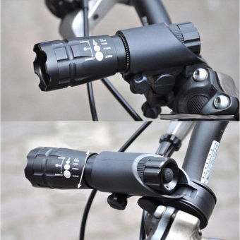 Cycling Bicycle Front Light CREE Q5 Flashlight 240 lm 3 Modes +Bike Torch Clip