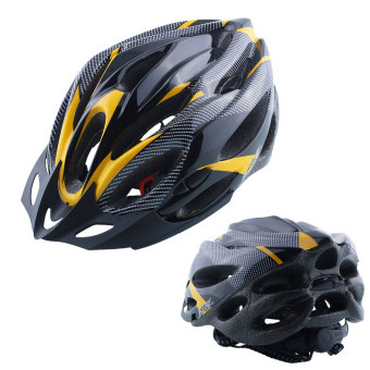 Cycling Helmet Adjustable Road Mountain Safety Unisex Shockproof Visor - intl