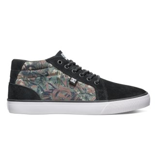 DC Men's Council Mid Cut Se (Camo Black)