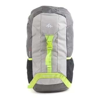 Decathlon Quechua Arpenaz Hiking Backpack 30 Litres (Grey/Green)