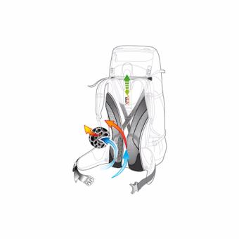 Deuter Act Lite 40+10 Hiking Bag (Forest Most) - 2
