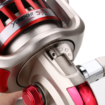 DF6000 Golden Reel Spinning Fishing Reel Fixed Spool Reel Coil Fish Fishing - picture 2