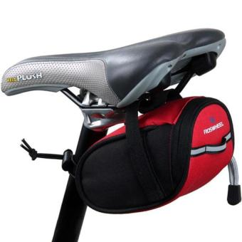 DHS Roswheel Bicycle Cycling Saddle Seat Pouch Bag (Red) - INTL - picture 2
