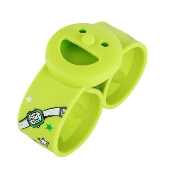 DHS Smiley Lap Replacement Module Mosquito Repellent Ring Green - INTL