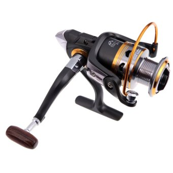 DK3000 11BB Ball Bearing 5.2:1 Left/Right Interchangeable Collapsible Handle Metal Spining Fishing Reel