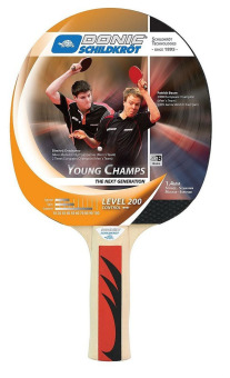 Donic Young Champs 200 Hobby Bat (Black) Price Philippines
