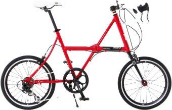 Doppelganger FX13 Fledermaus Folding Bicycle (Red)