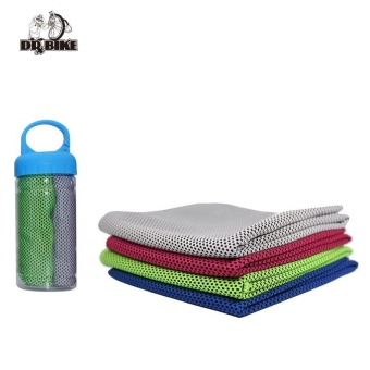 Drbike 90*30cm Cool Ice Towel Bottle Packed Cold washrag Summer Sports Gym wipe sweat Towel Instant Cooling Towel - intl