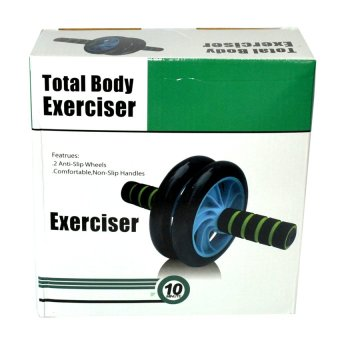 Dual Ab Wheel for Abdominal Roller Workout Exerciser - picture 3