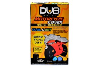 Dub Motorcycle Cover Large - (Gray)