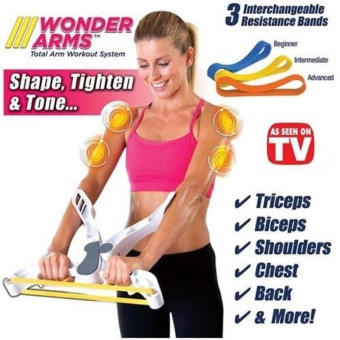 Durable Arms Good Figure Fitness System Arm Upper Body WorkoutMachine With Retail Box - intl Price Philippines