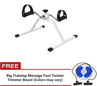 Easy Exercise Bike With Free Big Training Massage Foot Twister Trimmer Board (Colors may vary)
