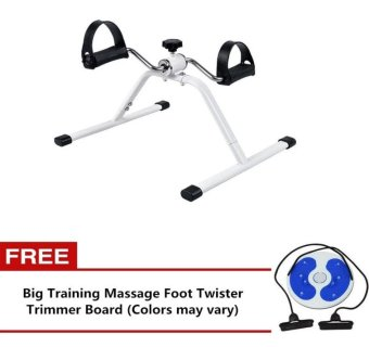 Easy Exercise Bike With Free Big Training Massage Foot TwisterTrimmer Board (Colors may vary)