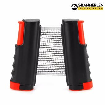 Easy Set Up and Super Deluxe Table Tennis Net Rack Replacement PingPong Net (Black) - 2