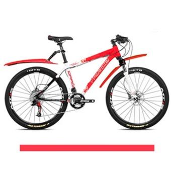 Elife Plastic Light Mountain Bike Bicycle Front Rear Mudguard - intl