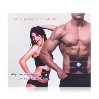 EMS Muscle Training Gear Abs Fit & Body Fit Gel Sheet HomeExercise Training - intl