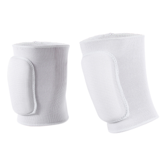 Eozy Sponge Arm Elbow Pad Winter Autumn Thick Keep Warm ElbowsProtector Gym Outdoor Sports Protective Pad (White) - 3