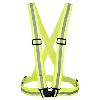 ETOP High Visibility Lightweight Reflective Vest Day For Cycling Running Walking (Multicolor) - INTL