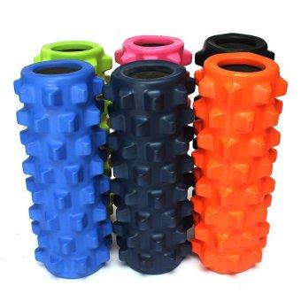 EVA Grid Foam Massage Roller Yoga Pilates Fitness Physiotherapy Rehabilitation (Orange) (Intl) - picture 4