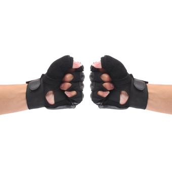 EVA Pad Taekwondo Hand Protector Gloves Karate Sparring Boxing Gear Black M - 4