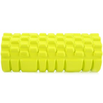 EVA Yoga Foam Roller Fitness Floating Point for Physio Massage Pilates Yellow (Intl) - picture 3