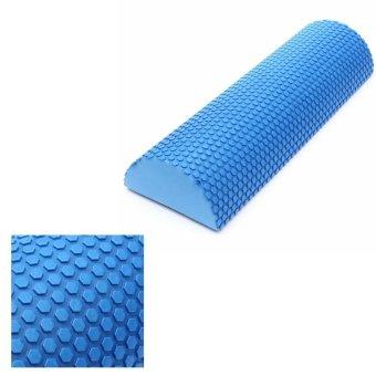 EVA Yoga Half Round Foam Roller (Blue) - picture 3