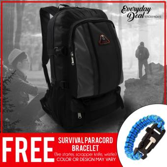Everyday Deal 2718 Sports Backpack with FREE Survival ParacordBracelet
