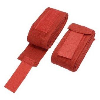 Excalibur 3.5m Elastic Hand Wraps (Red)