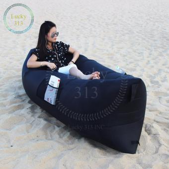 FAST INFLATABLE BANANA BED(BLACK)