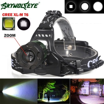 FFY 5000 Lm CREE XM-L XML T6 LED Headlamp Headlight flashlight head light lamp 18650 - intl