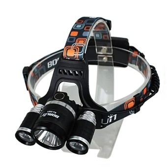 FFY 6000 Lm XM-L XML 3X T6 LED Headlamp Headlight + EU plug - intl