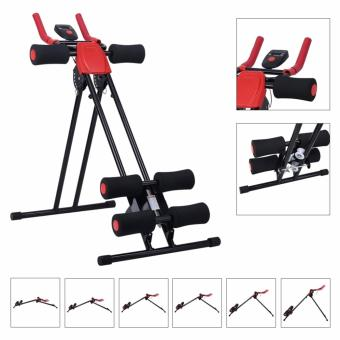 Finether AB Cruncher Abdominal Trainer Glider Machine VERSION 5.0(RED/BLACK) - 2